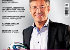Drei Streifen – Ein Macher – adidas-Chef Herbert Hainer im Interview mit dem neuen Magazin ?kischuni Karriere?