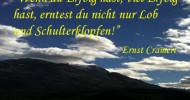 Erfolgszitat von Ernst Crameri