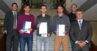 Studenten der Hochschule Karlsruhe? Technik und Wirtschaft erhalten ITK Student Award 2015
