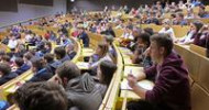 Volle Hörsäle und großer Andrang an den Info-Ständen am Studien-Informationstag der TU Kaiserslautern