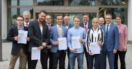 Sechs Deutschland-Stipendien an der SRH Hochschule vergeben