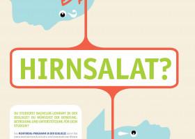 Erfolgreiche Plakate gegen Hirnsalat!