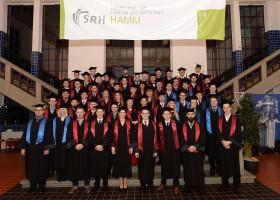 8. Absolventenjahrgang der SRH Hochschule Hamm feierlich verabschiedet