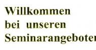 AGG Seminare – Bei Ihnen vor Ort – Allgemeines Gleichbehandlungsgesetz
