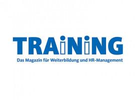 Wer Trainings designt, hat gute Chancen