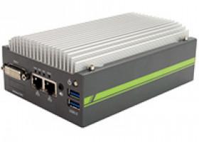 APROTECH GOLUB 3845, der kleine Hutschienen-PC, optional mit PROFIBUS- oder CAN-Schnittstelle, und Power over Ethernet.