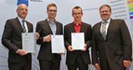 Zwei Kammersieger für das Novotel Würzburg: IHK Würzburg-Schweinfurt Mainfranken zeichnete Björn Rückert und Christoph Fella aus