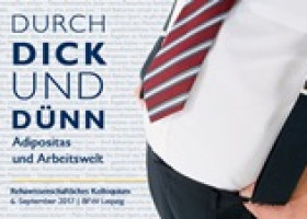 Durch Dick und Dünn – Reha-Kolloquium zu Adipositas im BFW Leipzig