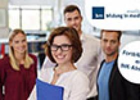 21. August 2017: Fortbildungen zum Medienfachwirt und Industriemeister starten