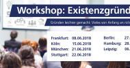 """Tages-Workshop """"Existenzgründung"""""""
