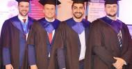 Vier Master-Absolventen berichten freimütig über ihre Erfahrungen im Studium – Fragen und Antworten zu abgeschlossenem Studium und Berufseinstieg