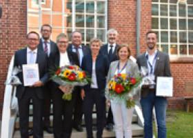 Ausgezeichnete Nachwuchsförderung: AMF-Bruns ist Ausbildungsbetrieb des Jahres 2017