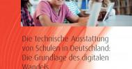 Neue Schul-Studie: Mit strukturiertem Handeln kann Digitalisierung gelingen / Status Quo allerdings alarmierend: Deutschlands Digitalausstattung in Schulen und Klassenzimmern ist mangelhaft! (FOTO)