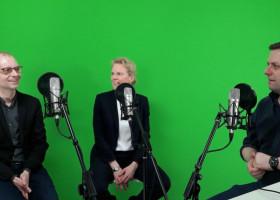 Herausforderungen der Unternehmensgründung im digitalen Zeitalter – der HPI-Podcast Neuland mit Prof. Katharina Hölzle und Dr. Robert Rose (FOTO)