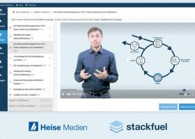 stackfuel.heise.de – Online-Trainings zum zertifizierten Datenexperten / Heise Medien und StackFuel verkünden strategische Partnerschaft (FOTO)