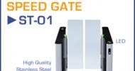 ST-01: Speed Gate – Modernes Design verknüpft mit höchsten Sicherheitsstandards