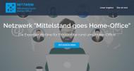 Netzwerk Mittelstand goes Home-Office berät Unternehmen in der Coronakrise zum Arbeitsplatz zu Hause
