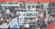 Schüleraustausch und Gap Year: Stipendien auf der AUF IN DIE WELT-Messe ONLINE am 13.06.2020 gewinnen