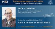 Dick Costolo, Entrepreneur, CEO von Twitter 2010-2015