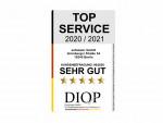 Servicesiegel Top Service (DIQP) an Sofatutor vergeben