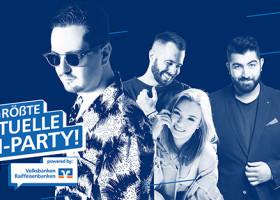 Deutschlands größte virtuelle Abi-Party live aus dem Weekend Club Berlin