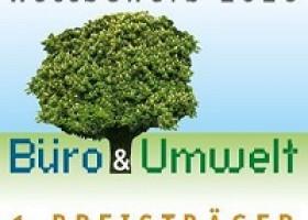 """1. Platz beim Wettbewerb """"Büro und Umwelt"""" für die ASB Akademie GmbH"""