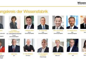 Mitgliederversammlung: personelleÄnderungen im Lenkungskreis der Wissensfabrik (FOTO)
