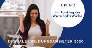 Deutsche Akademie für Management ist TOP Digitaler Bildungsanbieter 2020