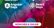 Die 2. Auflage als Hybrid-Trainingsevent: JavaScript, Angular, React, HTML & CSS, 22. – 25. März 2021