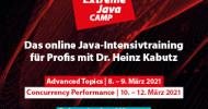 Extreme Java Camp bleibt online! Neue Termine für 2021
