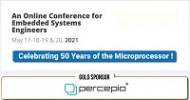 Percepio beteiligt sich als Goldsponsor an der Embedded Online Conference 2021