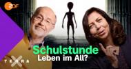 """ZDF-YouTube-Kanal """"Terra X plus"""": Live-Schulstunde zum Weltall / Mit Dr. Cecilia Scorza-Lesch und Prof. Harald Lesch (FOTO)"""