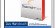 Neu im Bücherregal: Microsoft SharePoint 2010 für Anwender
