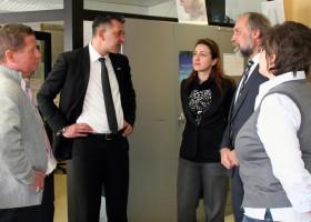 Kooperation zwischen Apollo Optik und den Eckert Schulen wird ausgebaut