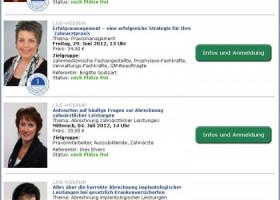 Abrechnung und Praxismanagement –   Spitta mit Fortbildung im Internet per Live-Webinar weiter auf Erfolgkurs