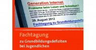 Generation Internet – Probleme beim Lesen und Schreiben?