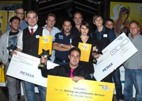 Sascha Buer aus Berlin ist der Gewinner des ersten METAXA Young Star Cup 2012