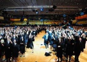 Akademische Tradition und Entertainment am 12. November 2012