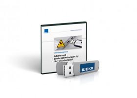Neuer USB-Stick für die Elektrofachkraft  zu Arbeits- und Betriebsanweisungen von WEKA MEDIA