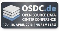 Open Source Data Center Conference (OSDC) 2013: Nur noch wenige Wochen bis zum Ende des Early Bird