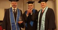 Absolventenfeier: Wilhelm Büchner Hochschule verleiht erstmals Master-Award