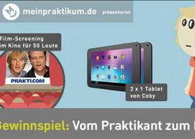 Das große meinpraktikum.de Gewinnspiel zum Film Prakti.com